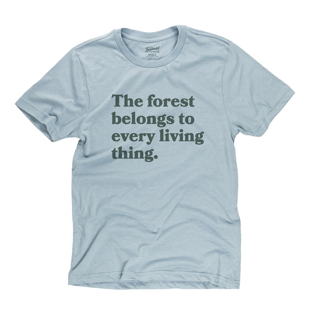 Every Living Thing t-shirt in chambray