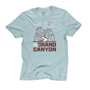 Grand Canyon Motif t-shirt in desert sky