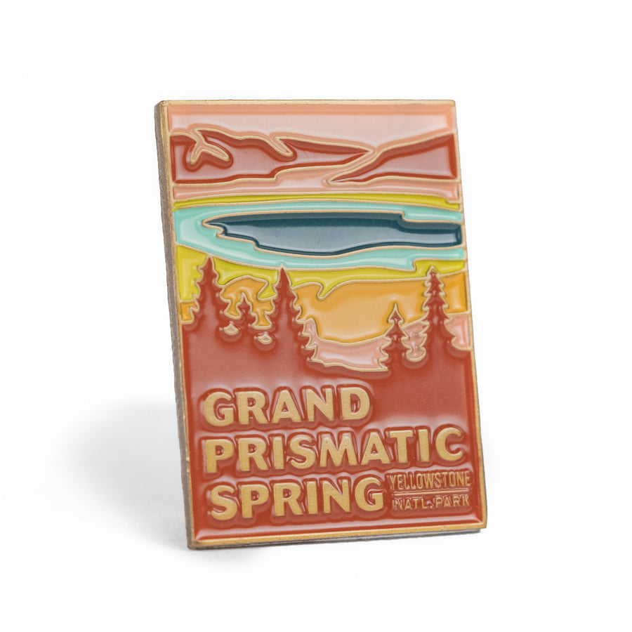 Grand Prismatic Spring - Enamel Pin