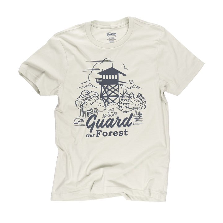 Guard Our Forest t-shirt in dune