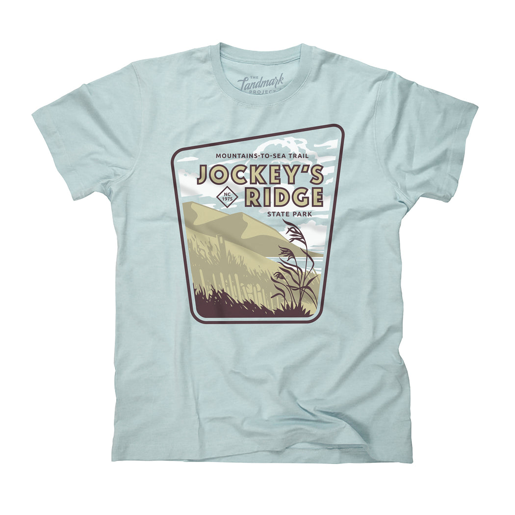 Jockey's Ridge State Park t-shirt in celadon
