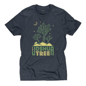 Joshua Tree Motif t-shirt in midnight