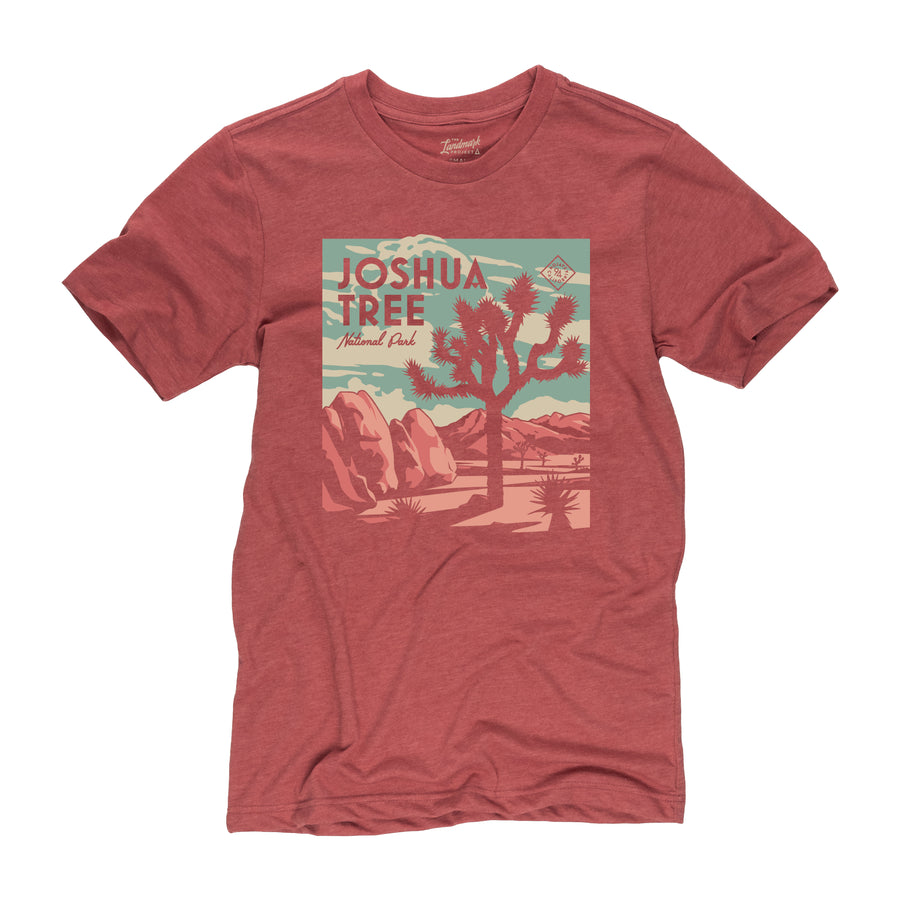 Joshua Tree National Park t-shirt in poppy