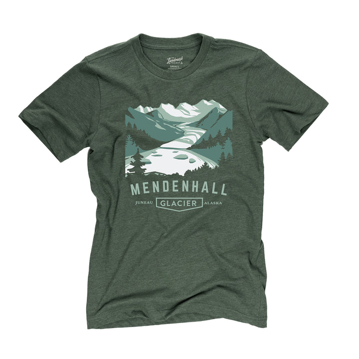 Mendenhall Glacier t-shirt in conifer