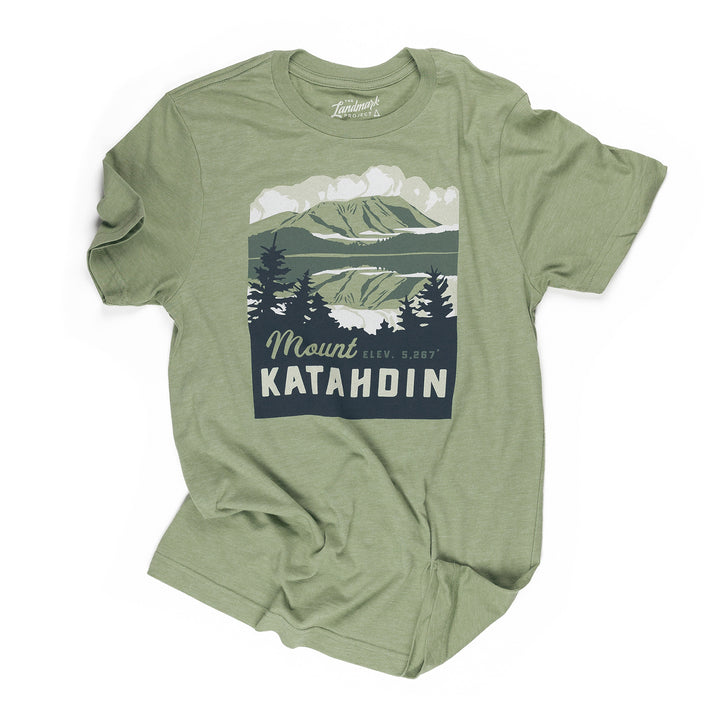 Mount Katahdin t-shirt in cactus