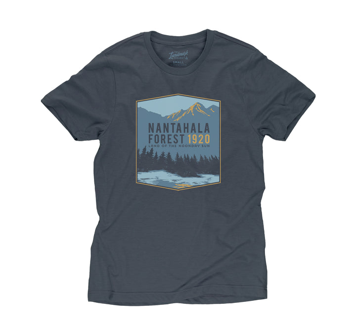 Nantahala Forest t-shirt in deep navy