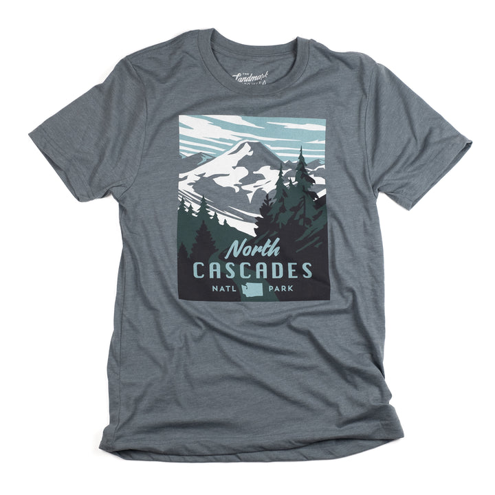 North Cascades National Park t-shirt in manatee