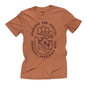 Oath To Protect t-shirt in clay