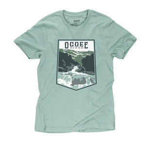 Ocoee River t-shirt in seafoam