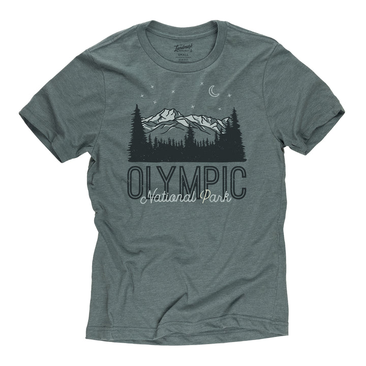 Olympic Motif t-shirt in manatee
