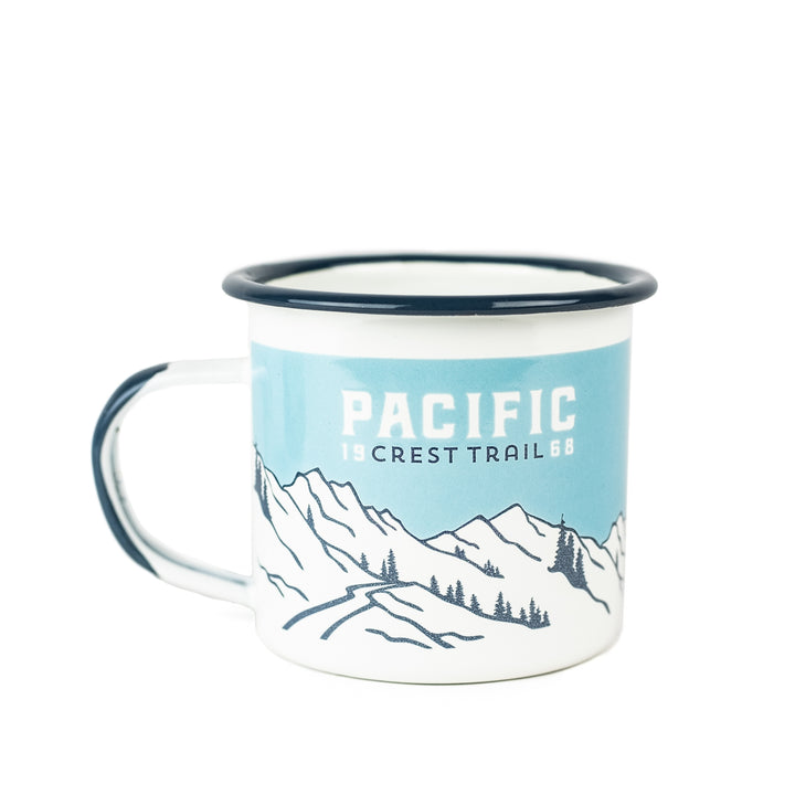 Pacific Crest Trail - Enamelware Mug (single)