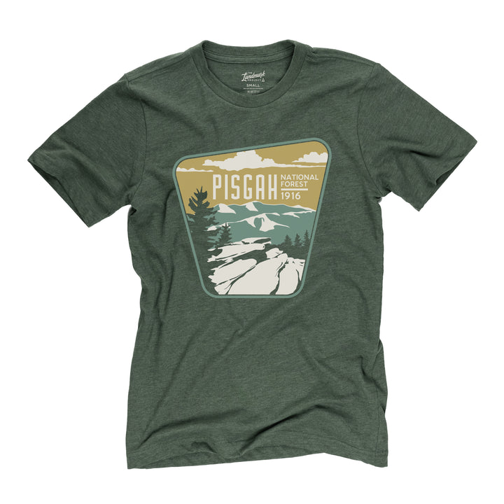 Pisgah National Forest t-shirt in conifer