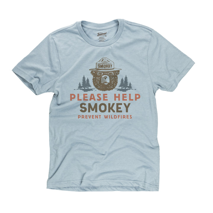 Please Help Smokey t-shirt in chambray