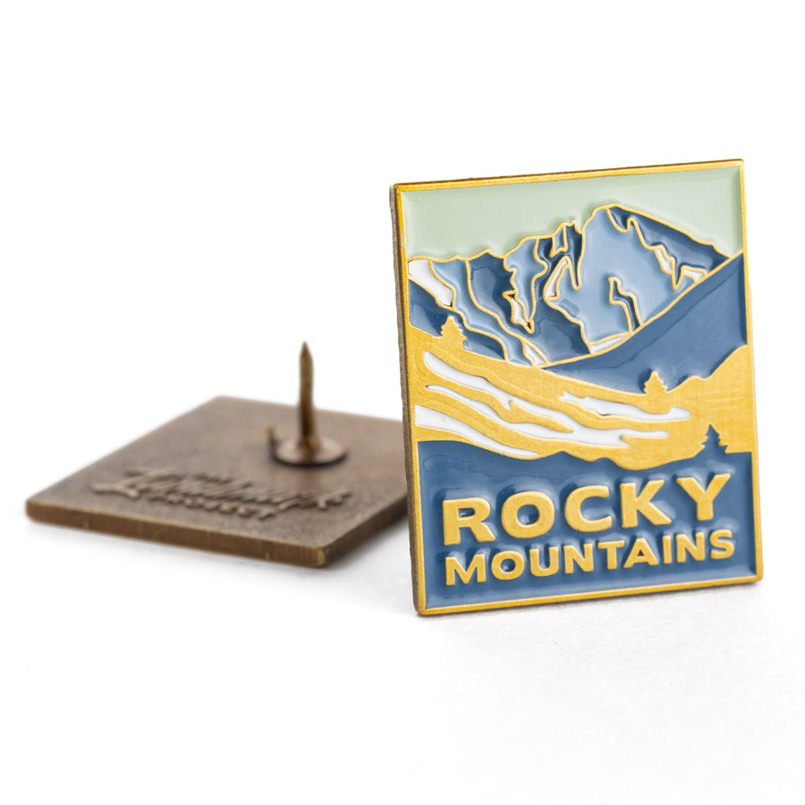 Rocky Mountains National Park Enamel Pin