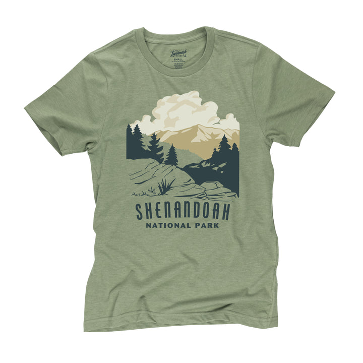 Shenandoah National Park t-shirt in cactus