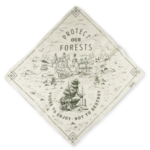Protect our Forests bandana