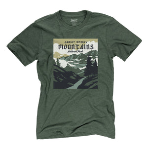 Smoky Mountains National Park t-shirt in conifer