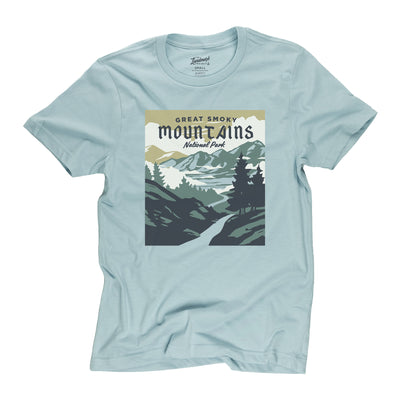 Smoky Mountains National Park t-shirt in desert sky