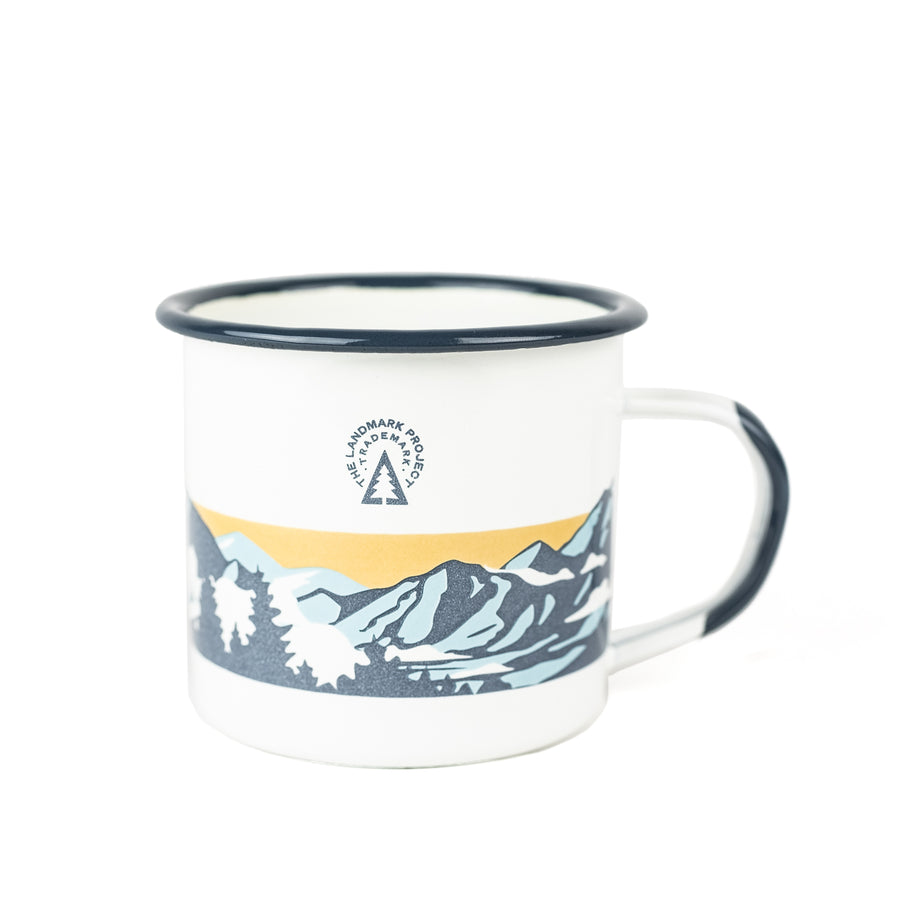 Smoky Mountains - Enamelware Mug