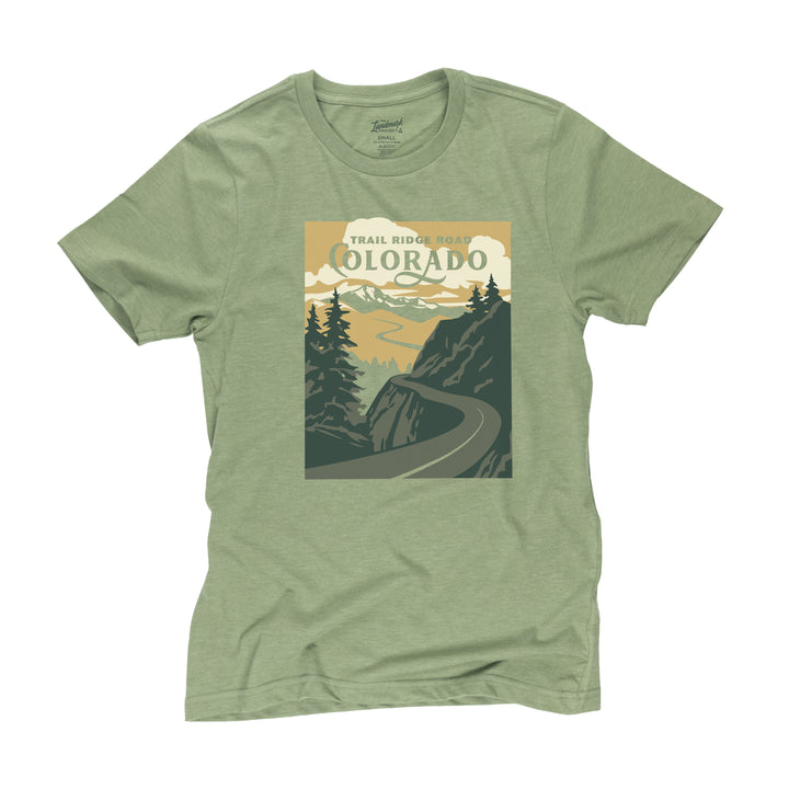 Trail Ridge Road t-shirt in cactus