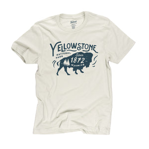 Yellowstone Bison t-shirt in dune