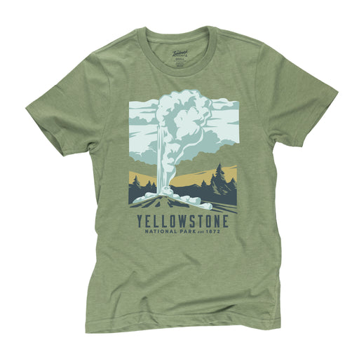 Yellowstone National Park t-shirt in cactus