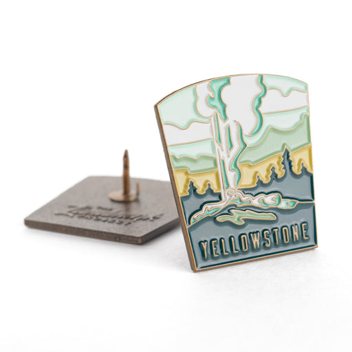 Yellowstone- enamel pin