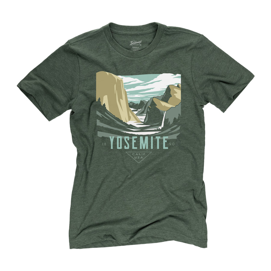 Yosemite National Park t-shirt in conifer