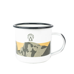 Yosemite National Park Enamelware Mug