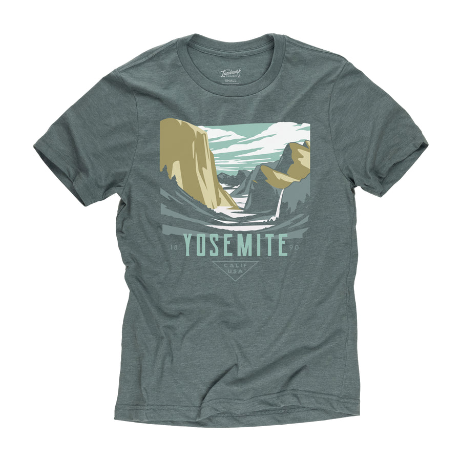 Yosemite National Park t-shirt in manatee