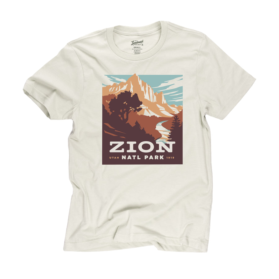 Zion National Park t-shirt in dune