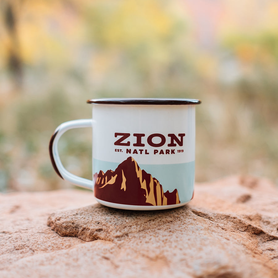 Zion - Enamelware Mug (single)