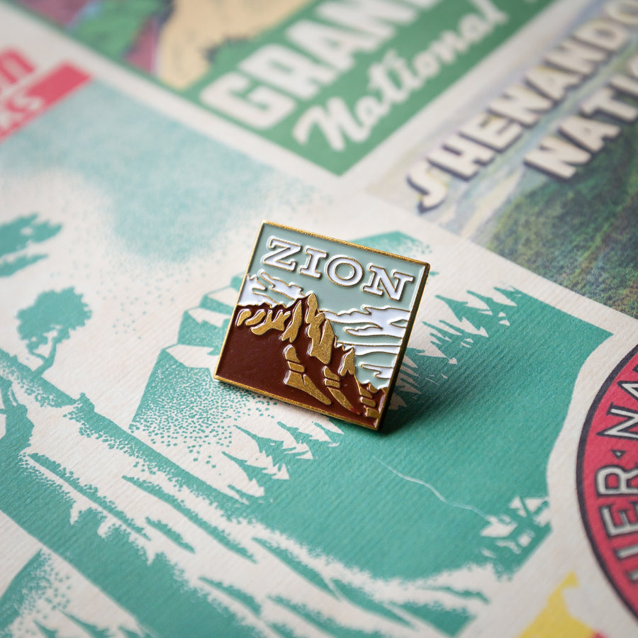 Zion National Park Enamel Pin