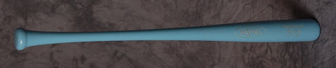 "Deal of the Day! Pro Maple ABX - 33"" Carolina Blue w/Ribbon-Bats-Bexter Sports"