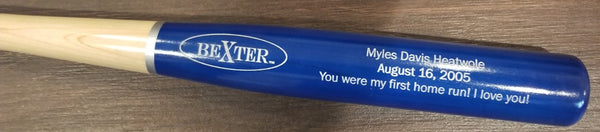 Baby's First Bat (personalized)-Bats-Bexter Sports