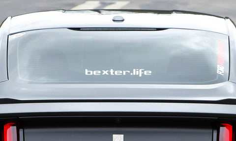 bexter.life Window Decal-Bexter Sports