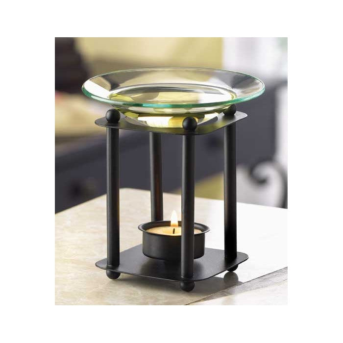 Black Block Oil Warmer - Giftspiration