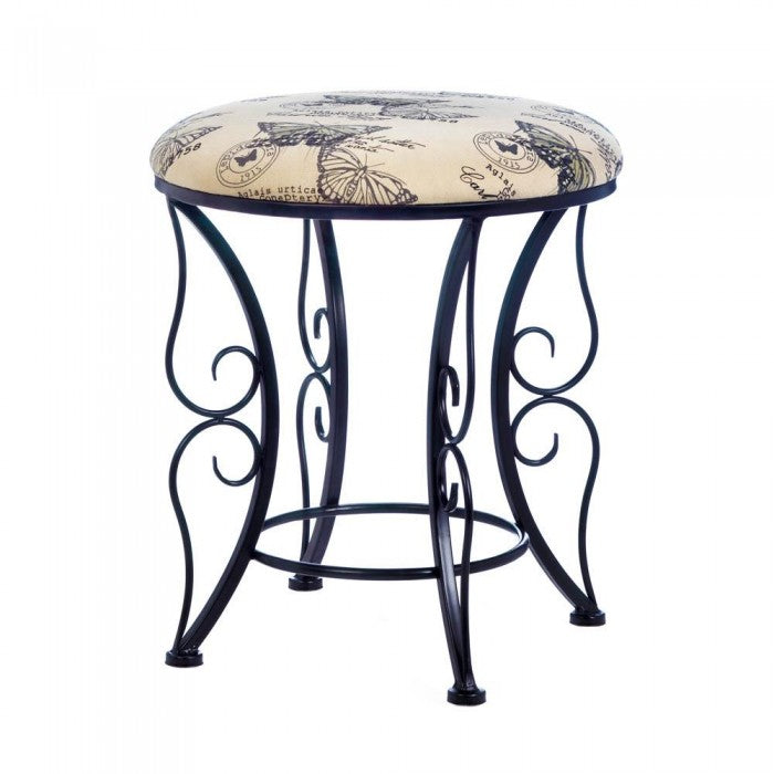 Butterfly Printed Stool - GIftspiration