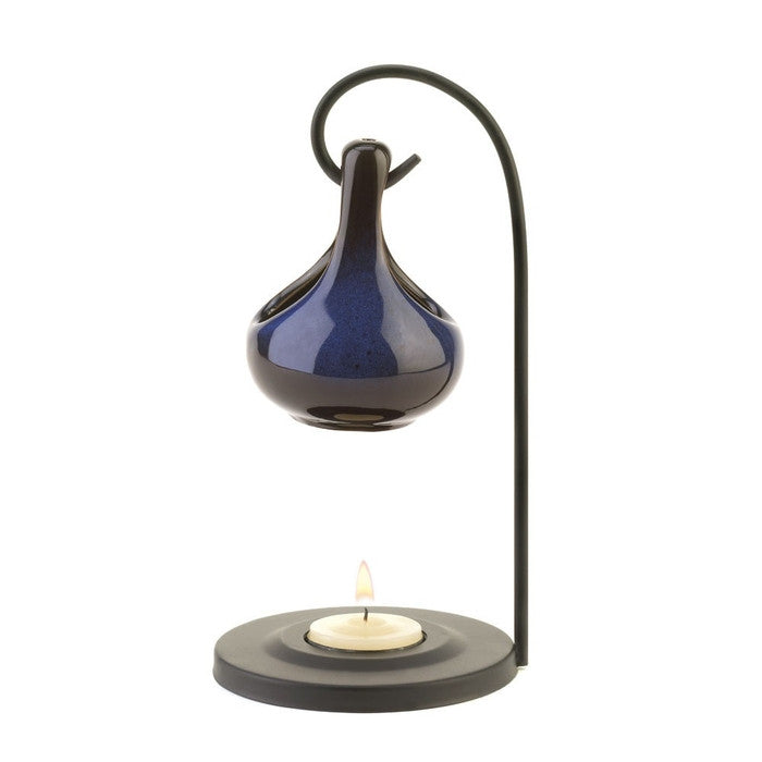 Cobalt Blue Tear Drop Oil Warmer - Giftspiration