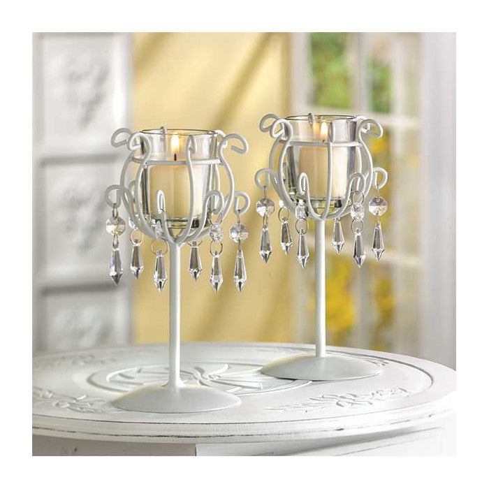 Crystal Drop Votive Stands - Giftspiration