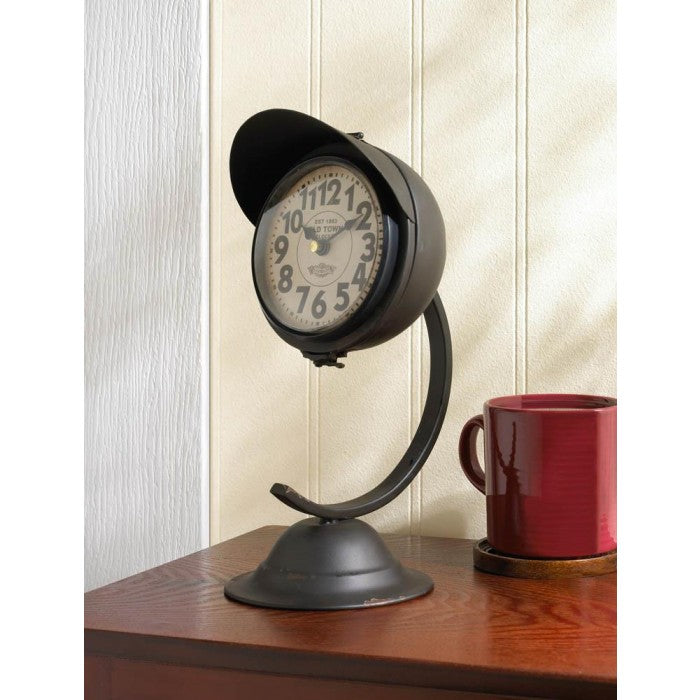 Vintage Black Standing Desk Clock - Giftspiration