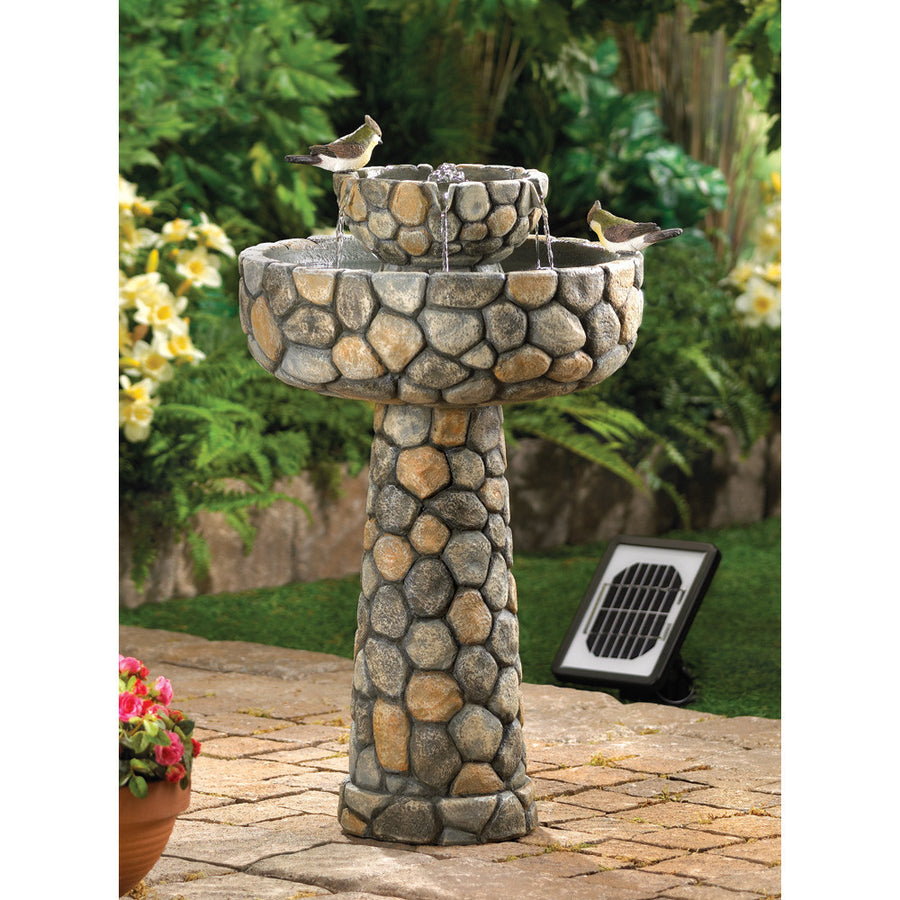 Wishing Well Solar Water Fountain - Giftspiration