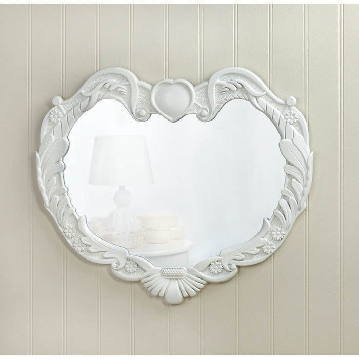 Angel Heart Wall Mirror - Giftspiration