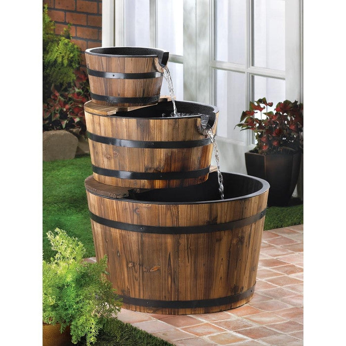 Apple Barrel Fountain - Giftspiration