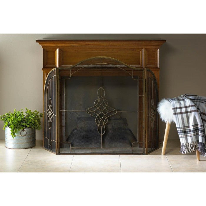 Art Deco Fireplace Screen - Giftspiration