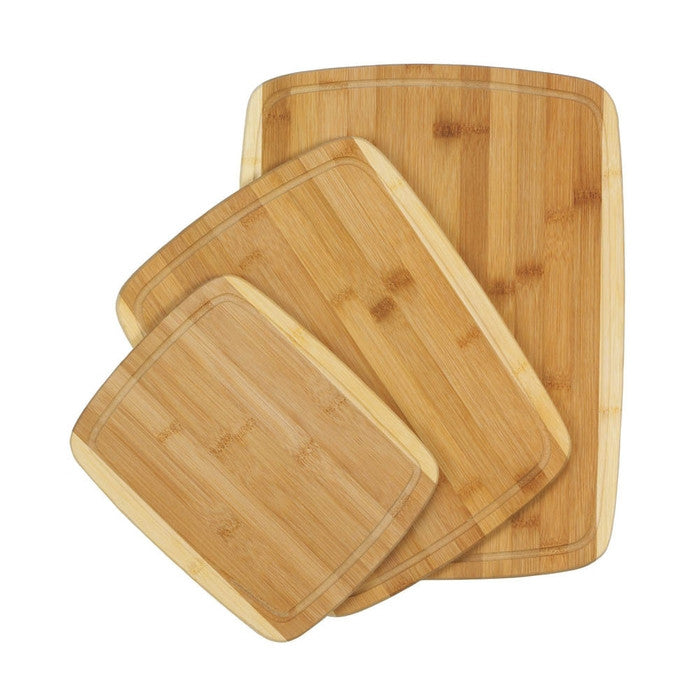 Bamboo Cutting Boards Trio - Giftspiration