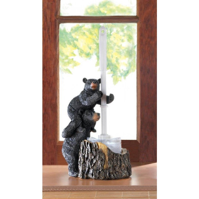 Bear Family Toilet Brush Holder - Giftspiration