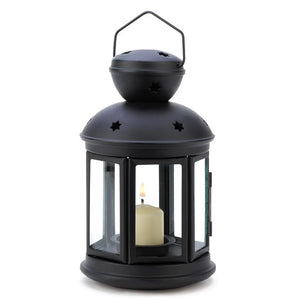Black Colonial Candle Lamp - Giftspiration