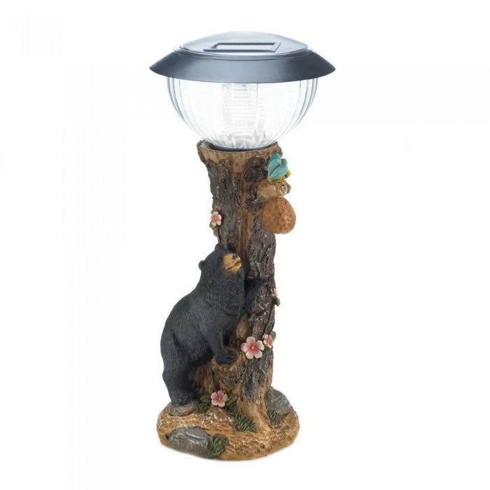 Black Bear Solar Path Light - Giftspiration