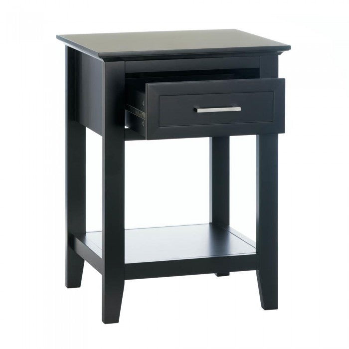 Black Crosstown Side Table - Giftspiration